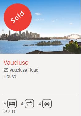 Property valuation Vaucluse NSW 2030